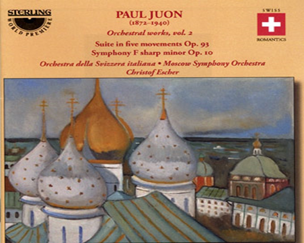 Paul Juon<br>Orchestral works, vol. 2