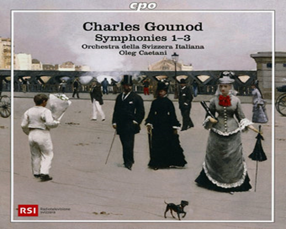 Charles Gounod<br>Symphonies 1-3